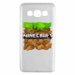 Чохол для Samsung A3 2015 Minecraft Main Logo