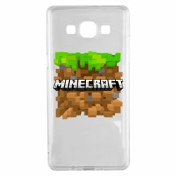 Чохол для Samsung A5 2015 Minecraft Main Logo