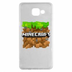 Чохол для Samsung A5 2016 Minecraft Main Logo