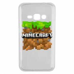 Чохол для Samsung J1 2016 Minecraft Main Logo