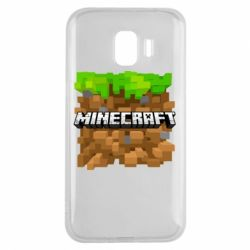 Чохол для Samsung J2 2018 Minecraft Main Logo