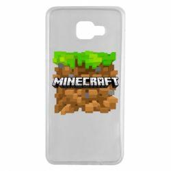 Чохол для Samsung A7 2016 Minecraft Main Logo