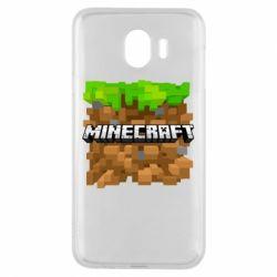 Чохол для Samsung J4 Minecraft Main Logo