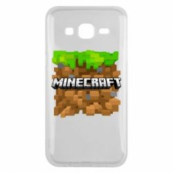 Чохол для Samsung J5 2015 Minecraft Main Logo
