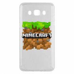 Чохол для Samsung J5 2016 Minecraft Main Logo