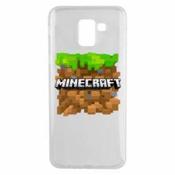 Чохол для Samsung J6 Minecraft Main Logo