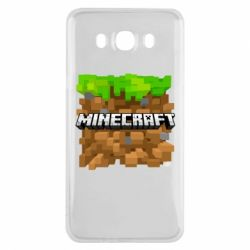 Чохол для Samsung J7 2016 Minecraft Main Logo