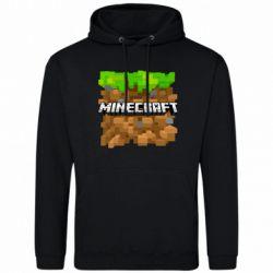 Мужская толстовка Minecraft Main Logo - FatLine