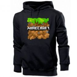 Мужская толстовка Minecraft Main Logo