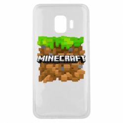 Чохол для Samsung J2 Core Minecraft Main Logo