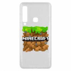 Чохол для Samsung A9 2018 Minecraft Main Logo