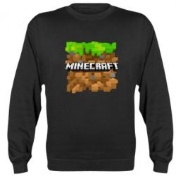 Реглан (свитшот) Minecraft Main Logo