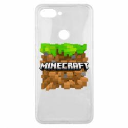Чохол для Xiaomi Mi8 Lite Minecraft Main Logo
