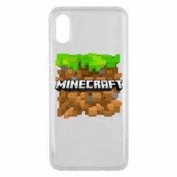 Чохол для Xiaomi Mi8 Pro Minecraft Main Logo