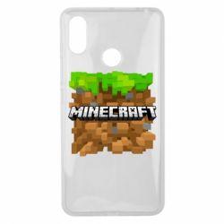 Чохол для Xiaomi Mi Max 3 Minecraft Main Logo