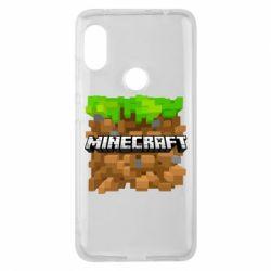Чохол для Xiaomi Redmi Note Pro 6 Minecraft Main Logo