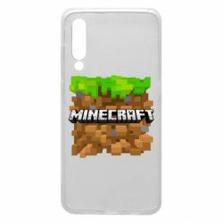 Чохол для Xiaomi Mi9 Minecraft Main Logo