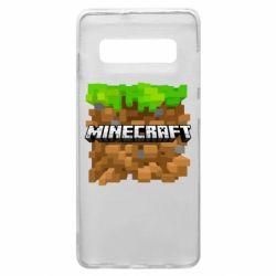 Чохол для Samsung S10+ Minecraft Main Logo