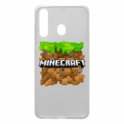 Чохол для Samsung A60 Minecraft Main Logo