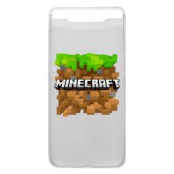 Чохол для Samsung A80 Minecraft Main Logo