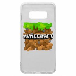 Чохол для Samsung S10e Minecraft Main Logo