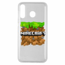 Чохол для Samsung M30 Minecraft Main Logo