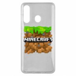 Чохол для Samsung M40 Minecraft Main Logo