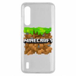 Чохол для Xiaomi Mi9 Lite Minecraft Main Logo