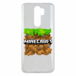 Чохол для Xiaomi Redmi Note 8 Pro Minecraft Main Logo