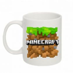 Кружка 320ml Minecraft Main Logo - FatLine