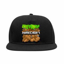 Снепбек Minecraft Main Logo - FatLine