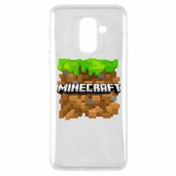 Чохол для Samsung A6+ 2018 Minecraft Main Logo