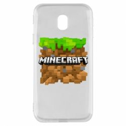Чохол для Samsung J3 2017 Minecraft Main Logo
