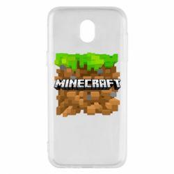 Чохол для Samsung J5 2017 Minecraft Main Logo