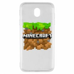 Чохол для Samsung J7 2017 Minecraft Main Logo