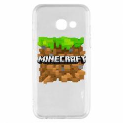 Чохол для Samsung A3 2017 Minecraft Main Logo