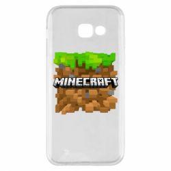 Чохол для Samsung A5 2017 Minecraft Main Logo