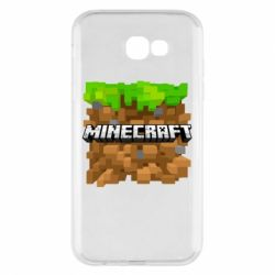 Чохол для Samsung A7 2017 Minecraft Main Logo