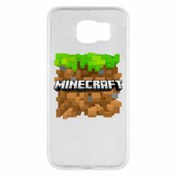 Чохол для Samsung S6 Minecraft Main Logo