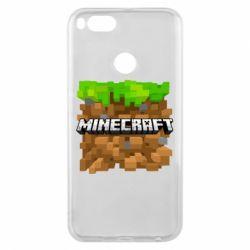 Чохол для Xiaomi Mi A1 Minecraft Main Logo