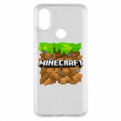 Чохол для Xiaomi Mi A2 Minecraft Main Logo