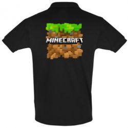 Футболка Поло Minecraft Main Logo - FatLine