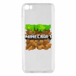 Чохол для Xiaomi Mi5/Mi5 Pro Minecraft Main Logo