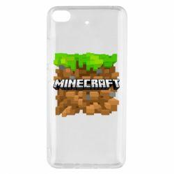 Чохол для Xiaomi Mi 5s Minecraft Main Logo