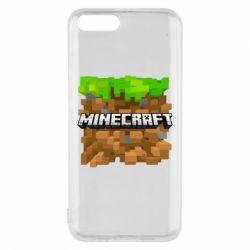 Чохол для Xiaomi Mi6 Minecraft Main Logo