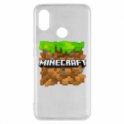 Чохол для Xiaomi Mi8 Minecraft Main Logo