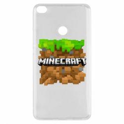 Чохол для Xiaomi Mi Max 2 Minecraft Main Logo