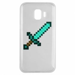 Чохол для Samsung J2 2018 Minecraft меч