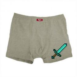 Мужские трусы Minecraft меч - FatLine