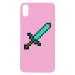 Чохол для iPhone Xs Max Minecraft меч